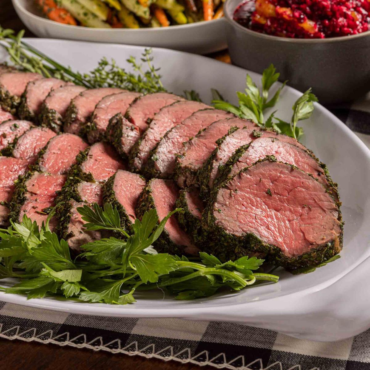 Herb Crusted Beef Filet