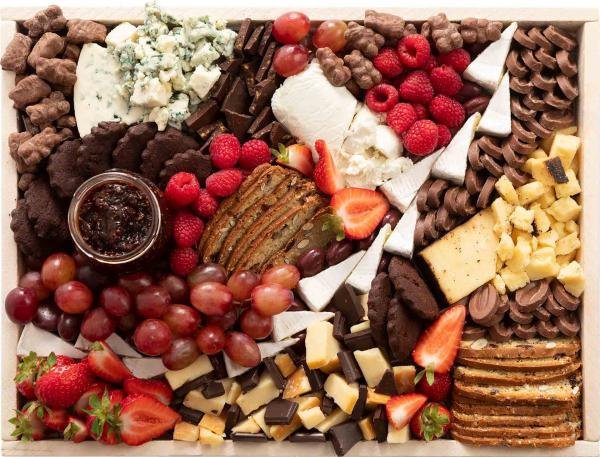 Medium Chocolate and Cheese Board
