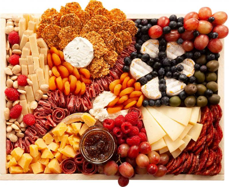 Medium Best of Both Worlds Cheese Board