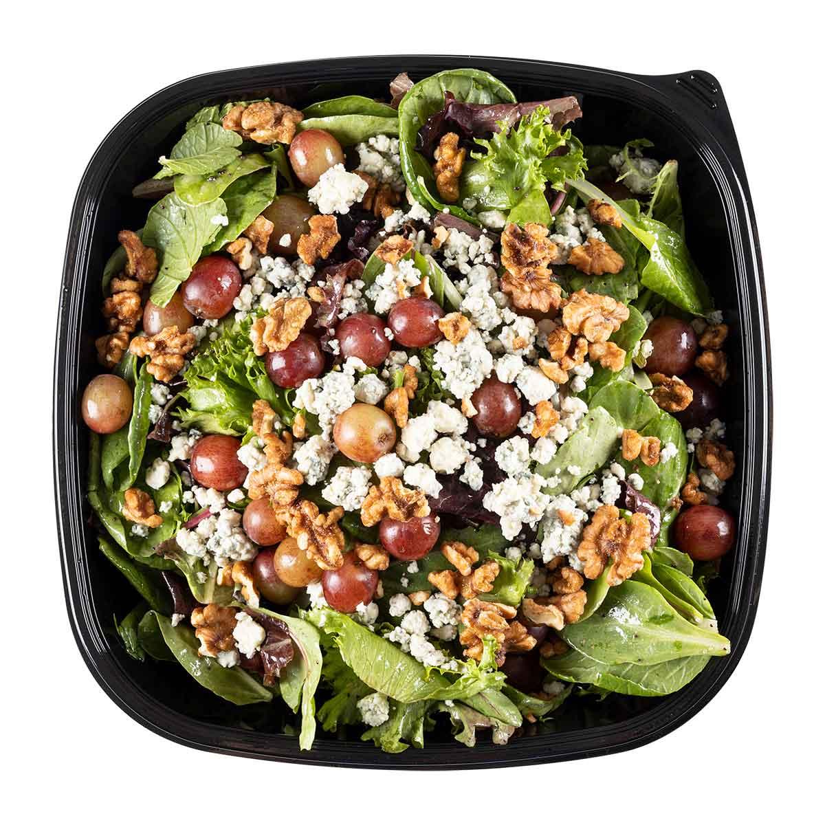 Mixed Greens with Grapes Salad