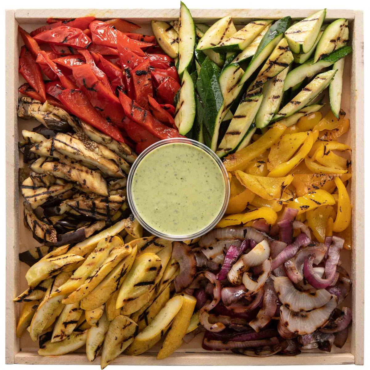 Large Grilled Vegetable Platter