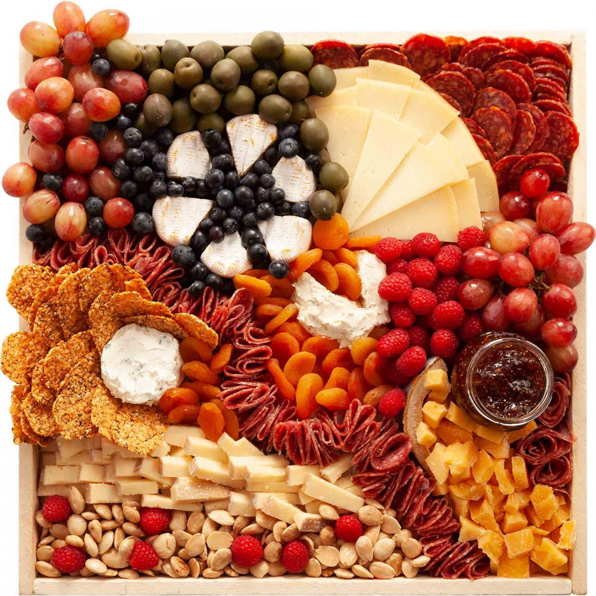 Large Best of Both Worlds Cheese Board