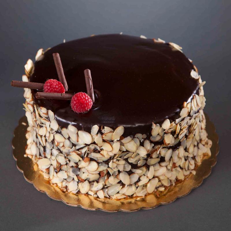 Raspberry Oblivion Cake