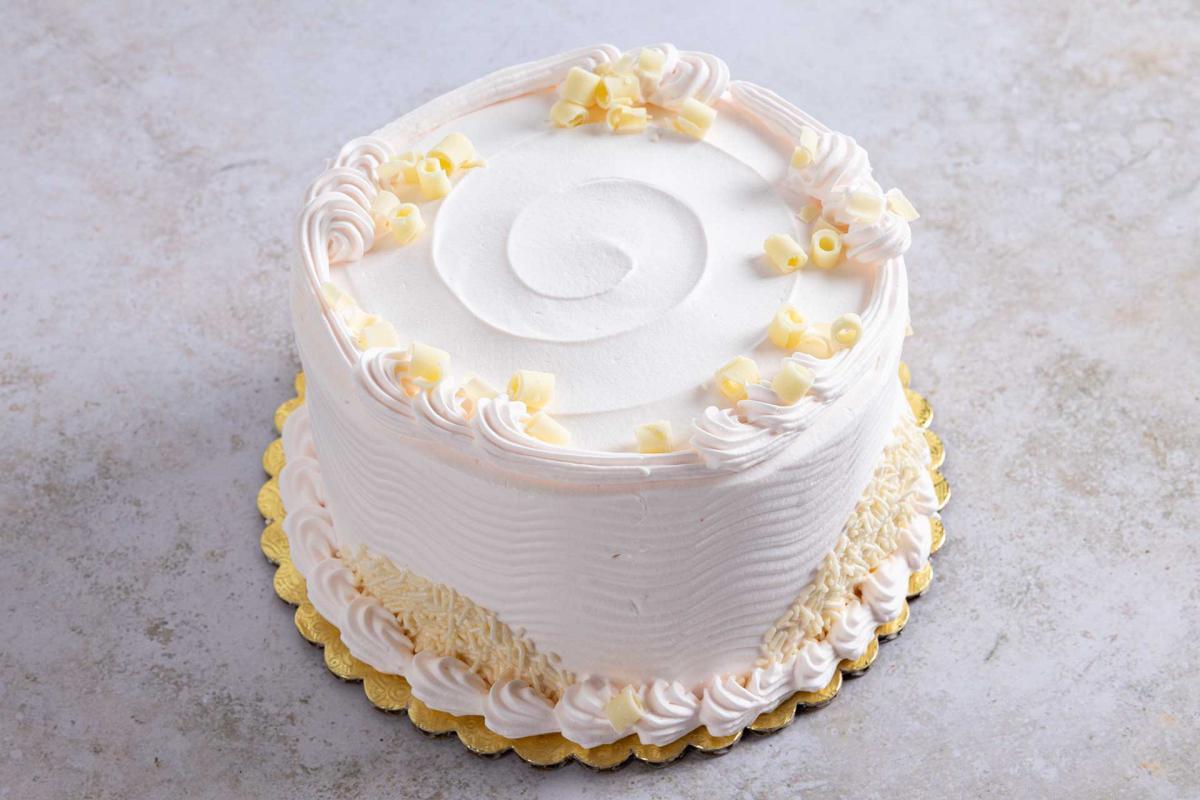 5-inch Champagne cake