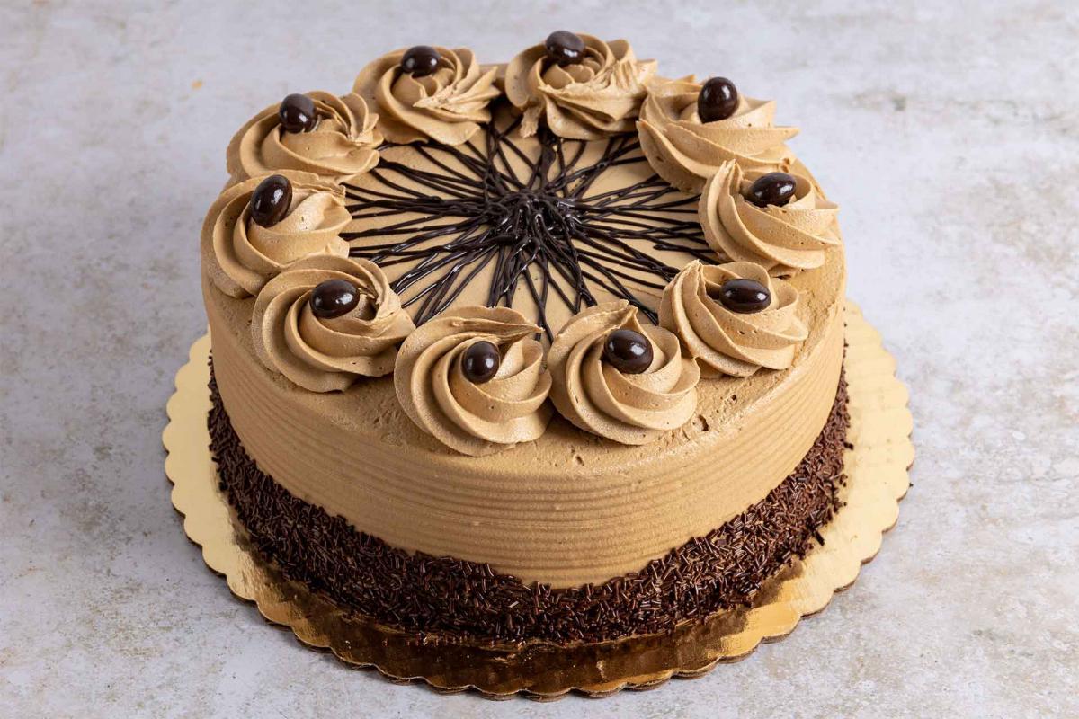 Espresso decadence cake
