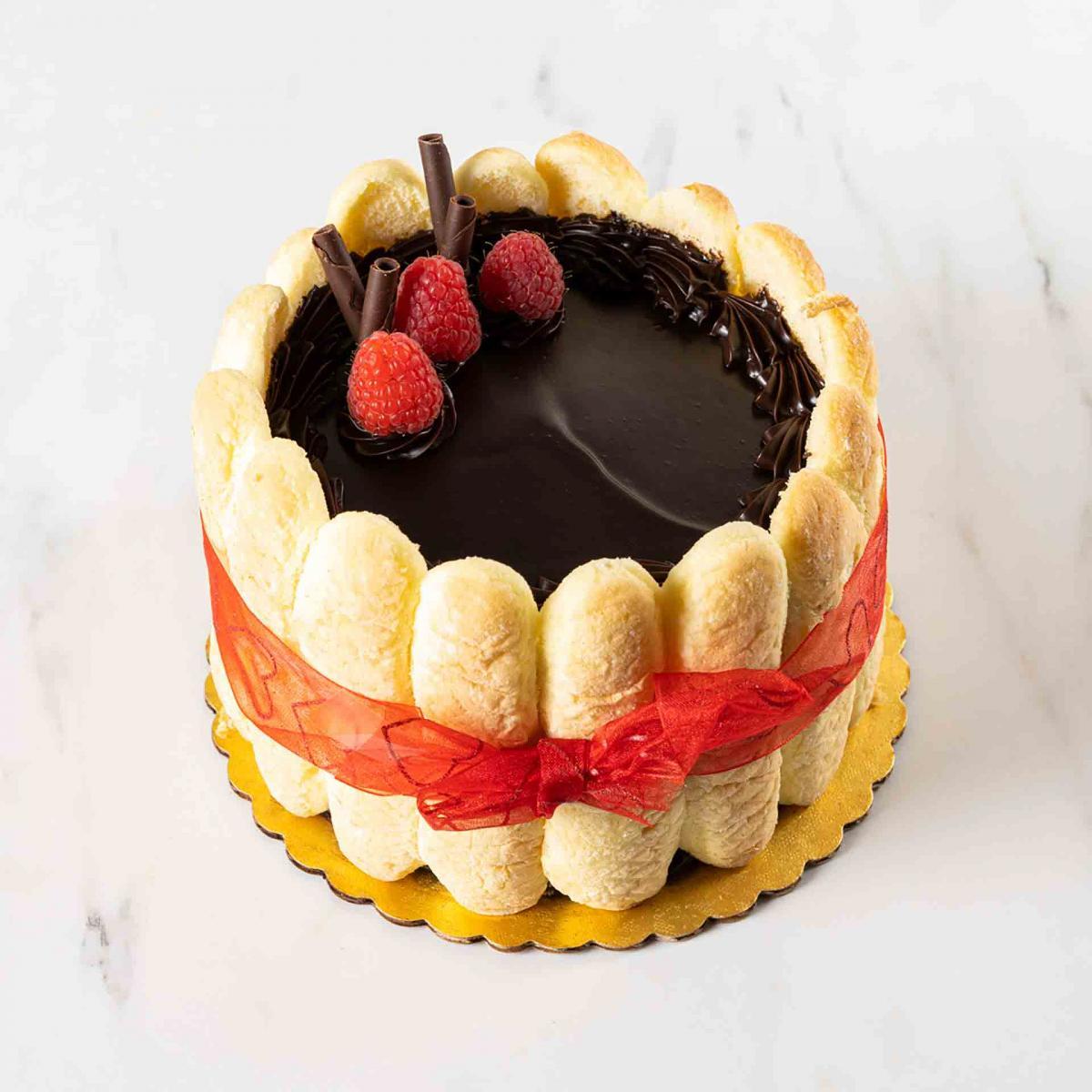5-Inch Raspberry Kiss Cake