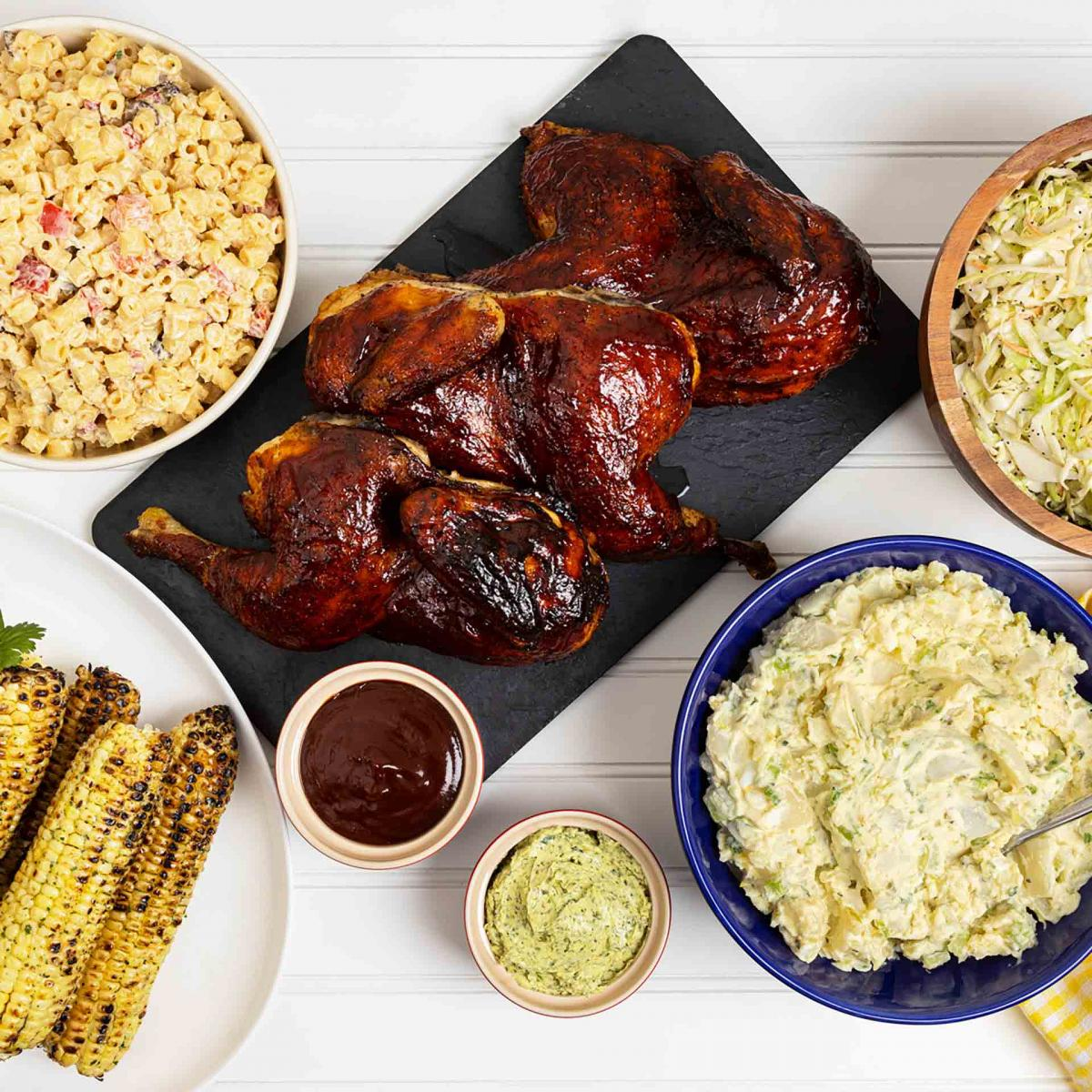 Memorial Day BBQ Chicken Meal
