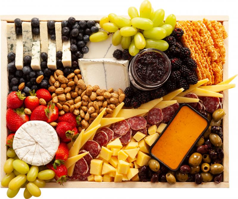 Medium California Favorites Cheese Board