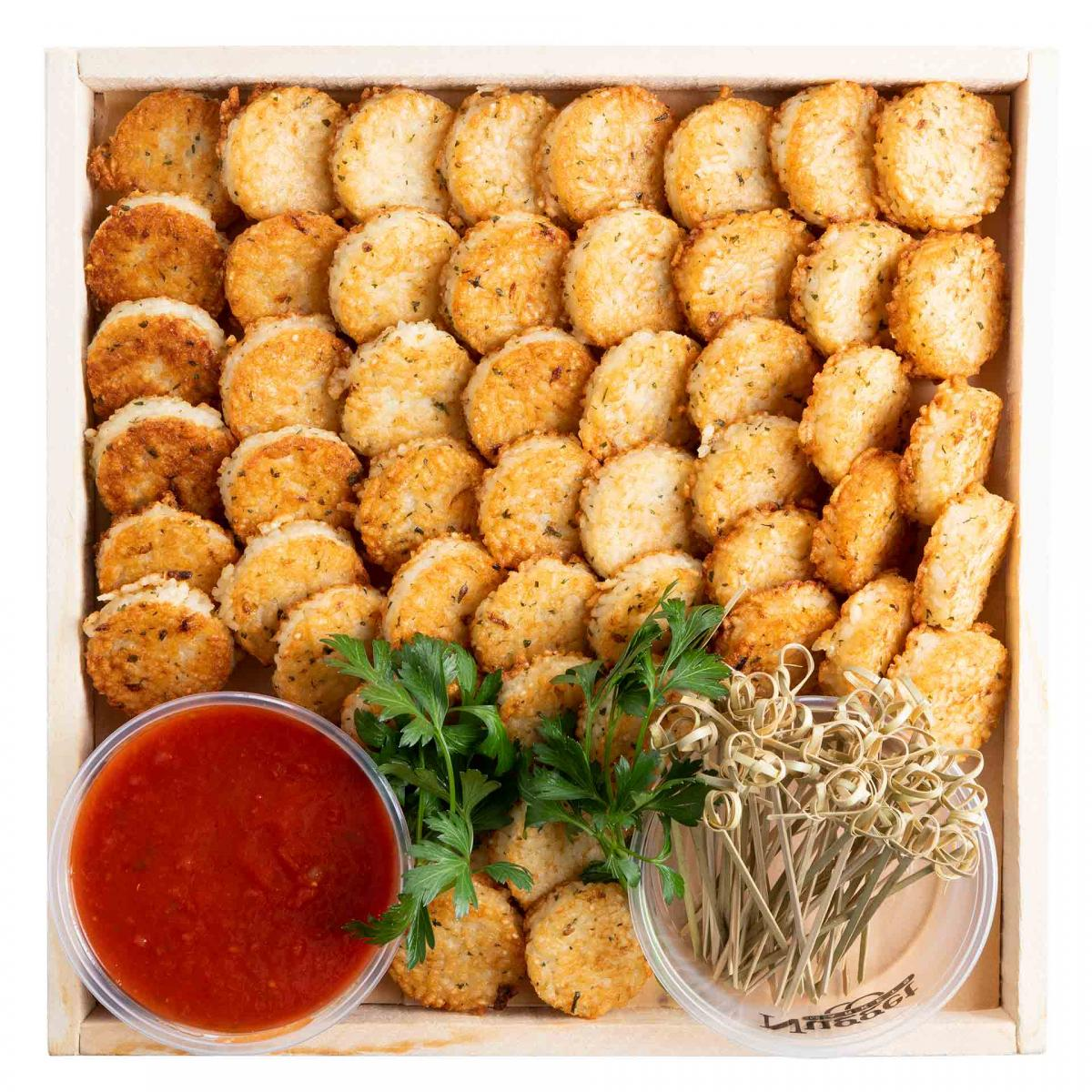 Risotto Cakes Platter