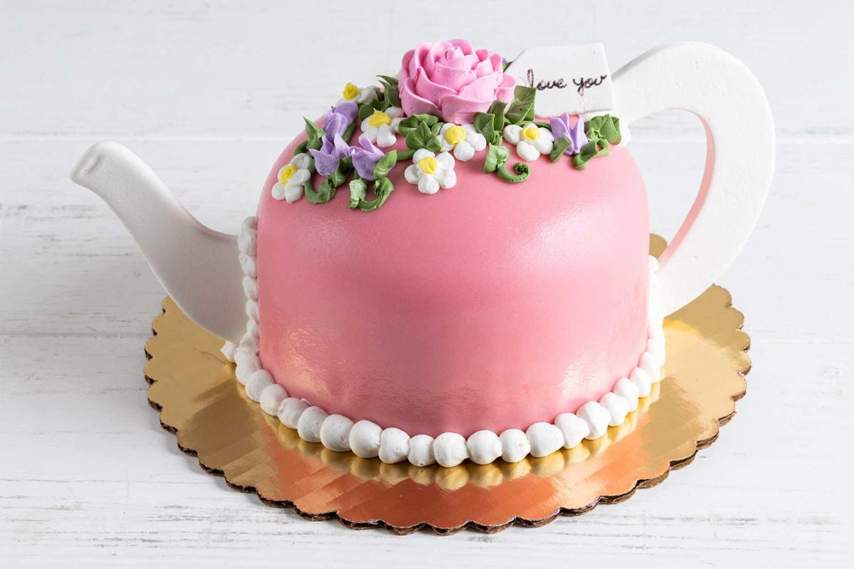5-inch teapot princess cake