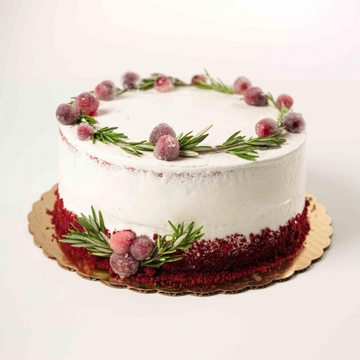 Festive Red Velvet Cake