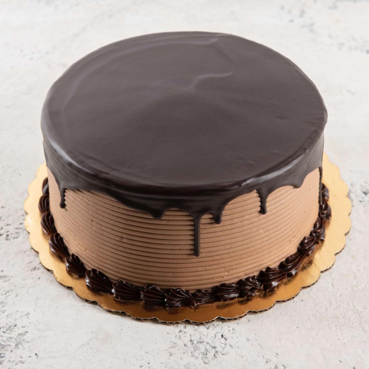 Chocolate Overflow Cake