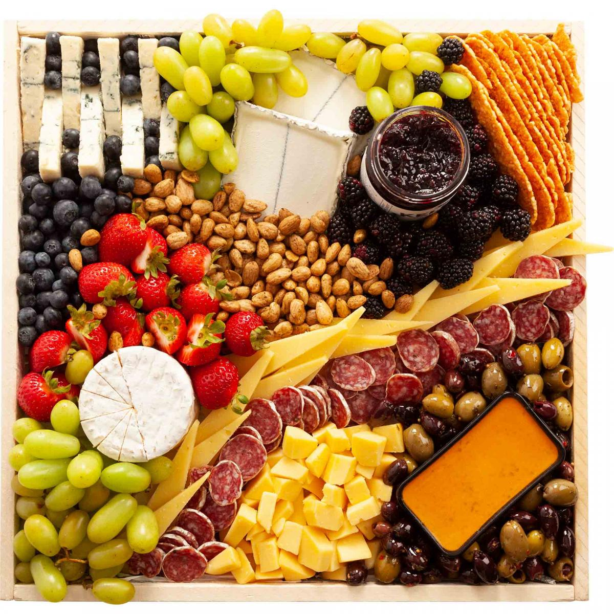 Large California Favorites Cheese Board