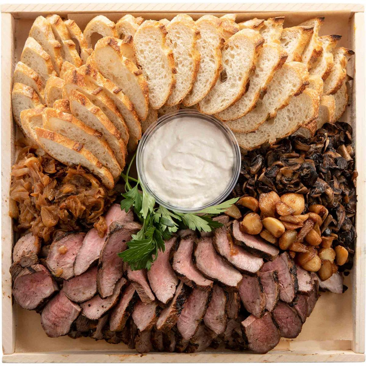 Beef Canape Platter