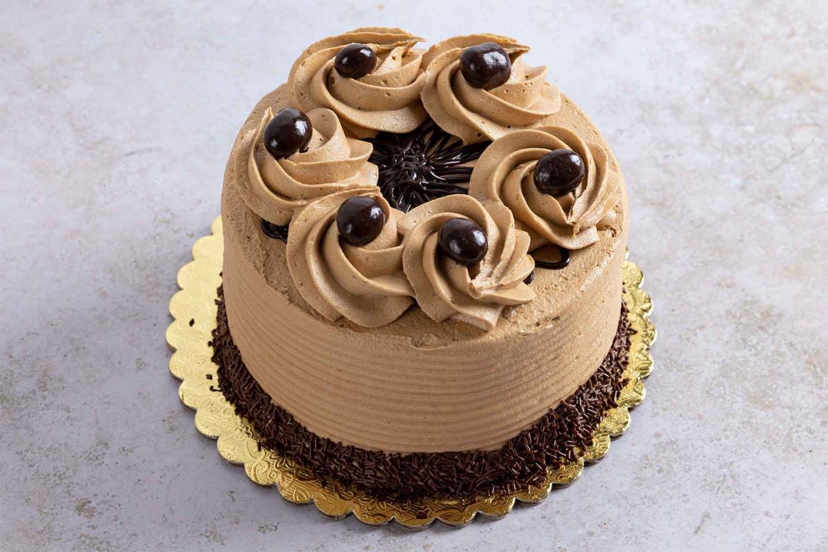 5-inch espresso decadence cake